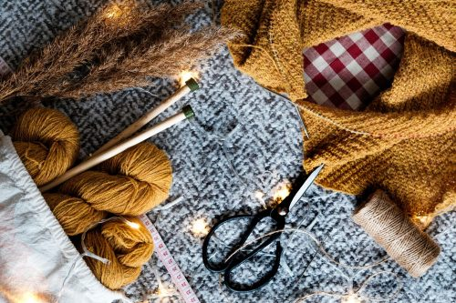knitting with natural fibres