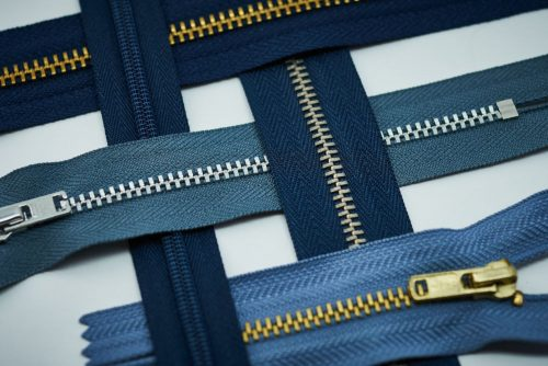 Most zipper tapes are made of synthetic fibres