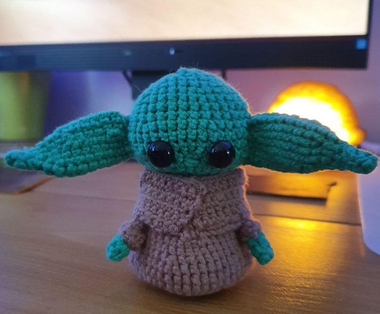 Crochet Baby Yoda from The Mandalorian