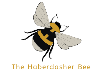 The Haberdasher Bee - Official Logo