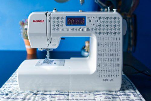 My new sewing machine - a Janome GD8100