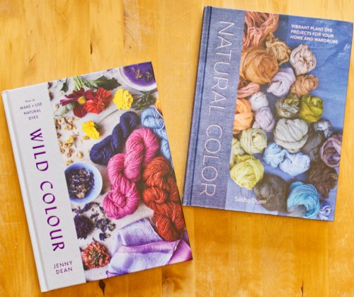 Books on natural dyeing