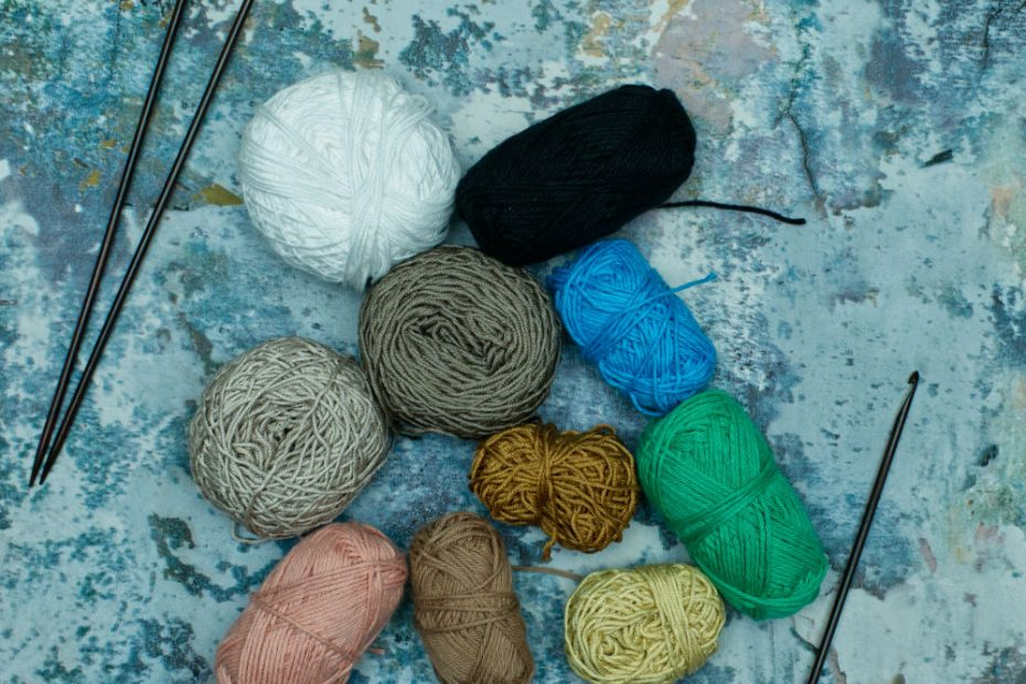 Scrap and leftover yarn is useful for projects including Innocent's Big Knit campaign
