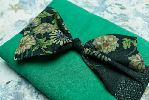 Another of my sewing plans is to use this beautiful green Japanese fabric