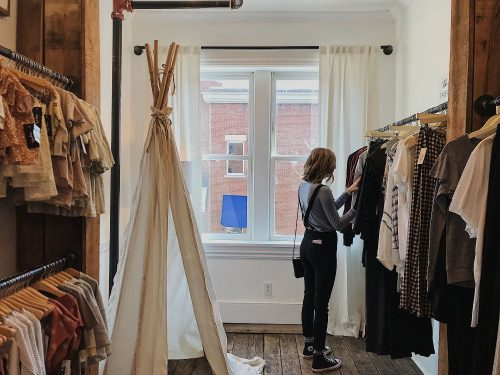 You can shop for sustainable clothes on the high street, if you know where to look