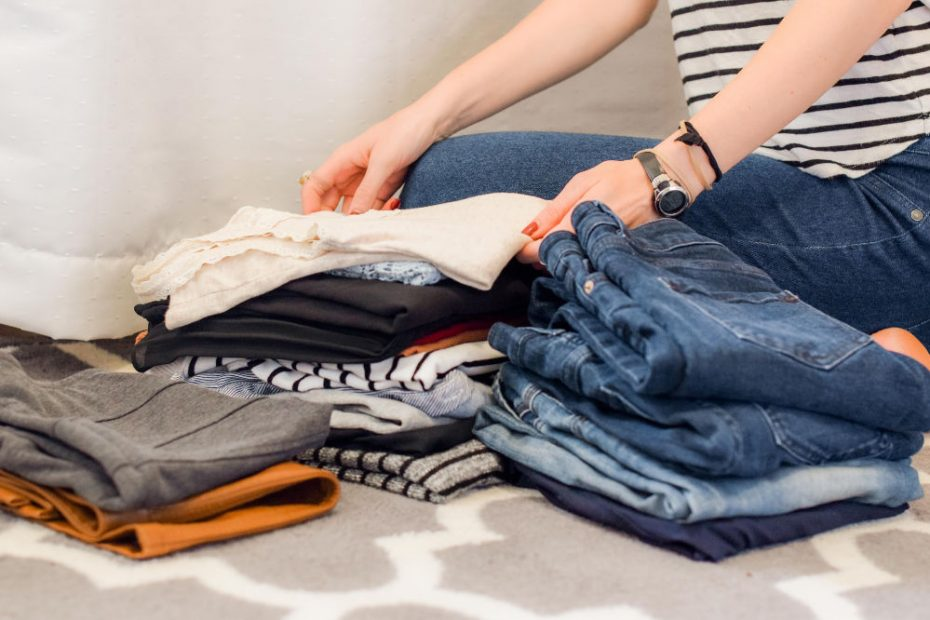 slow fashion is the opposite of fast fashion in that you buy quality clothes once every so often, rather than cheap clothes regularly