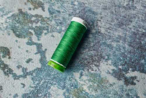 Recycled polyester thread is a good option for making items where you need the strength and durability of polyester thread
