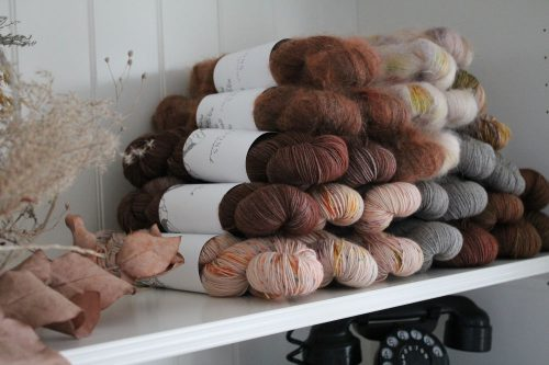 If the yarn in your stash isn't eco-friendly, don't throw it away